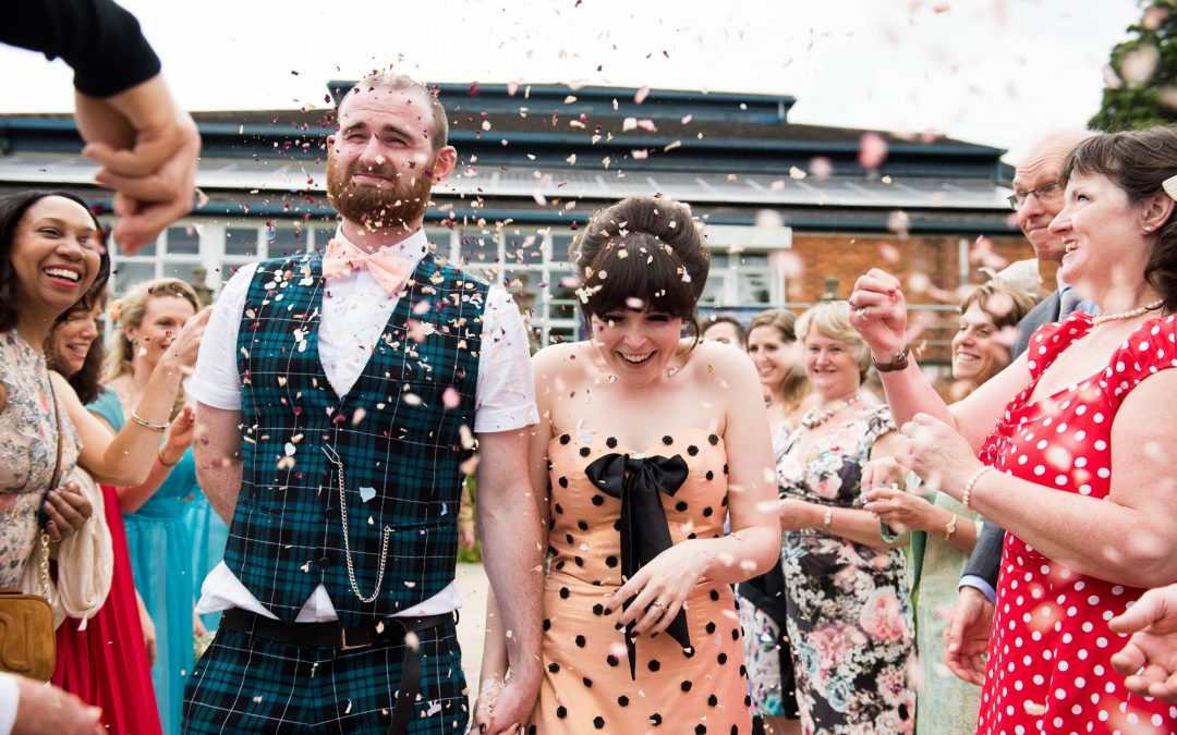 Berkshire Wedding Photography – Hannah and Andy's Theatre Wedding