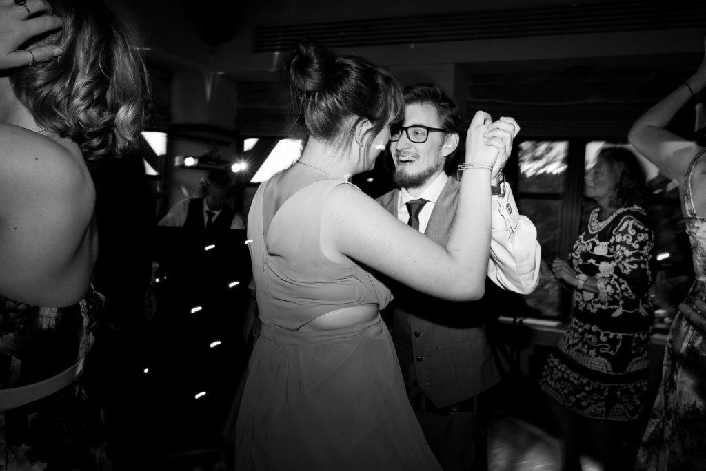 Wedding dance floor fun Wilde Theatre Berkshire