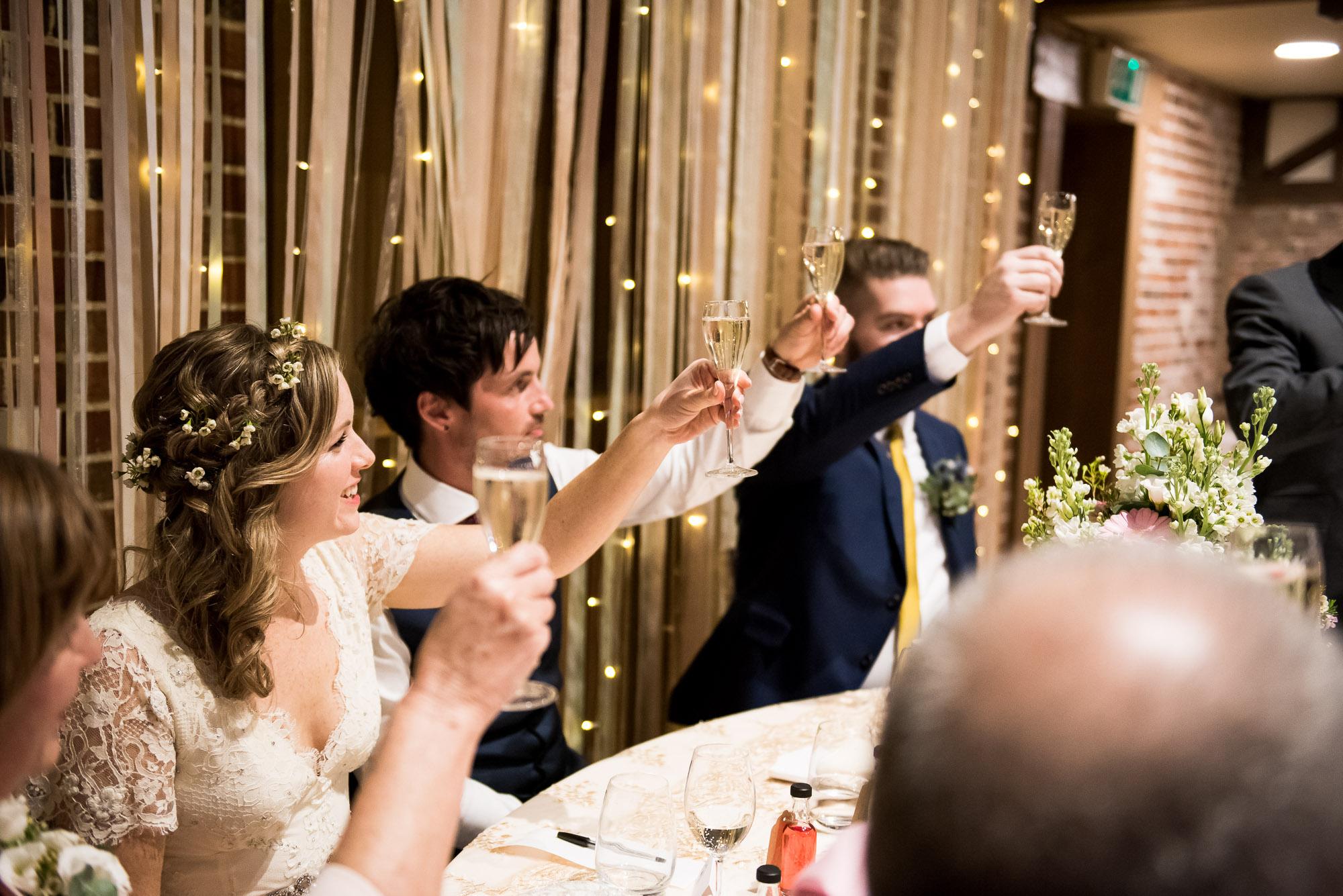 Speeches Essex Barn wedding