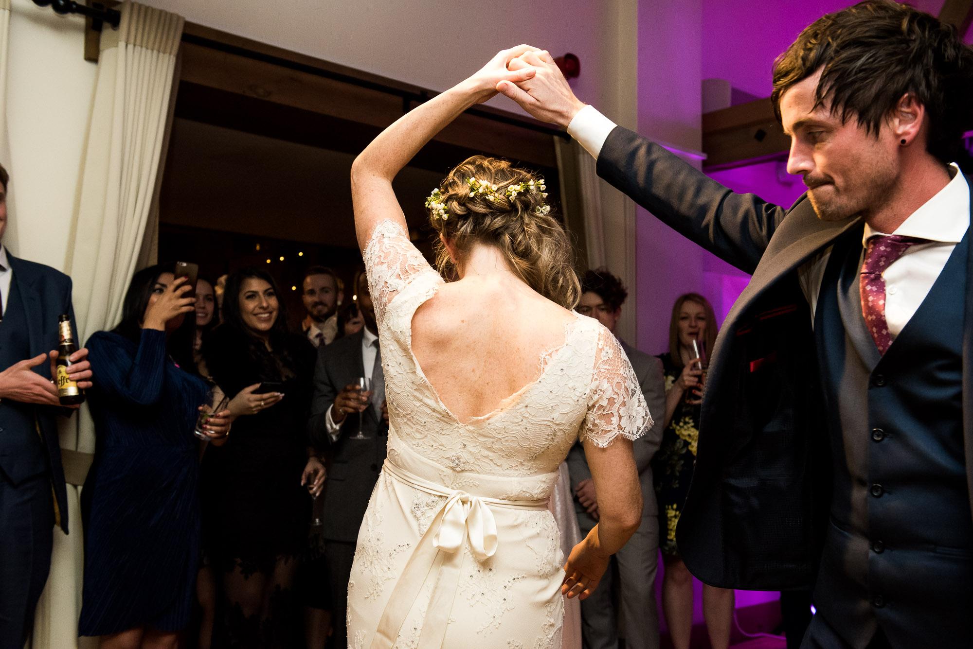 First dance Essex Barn wedding