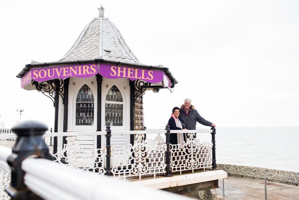 Creative couples portrait Brighton