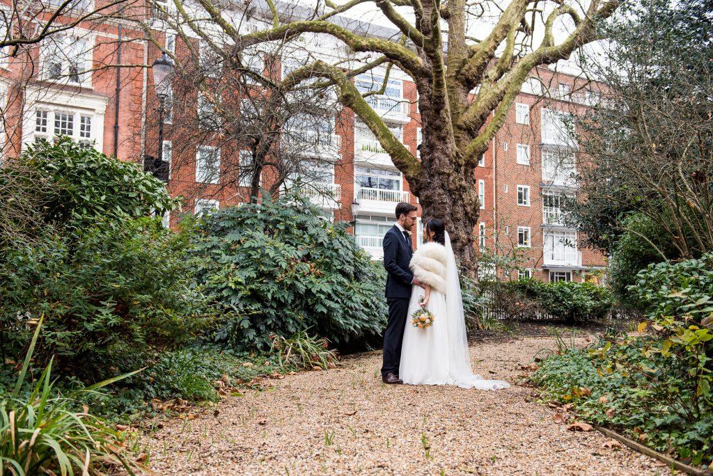 London wedding portrait photography