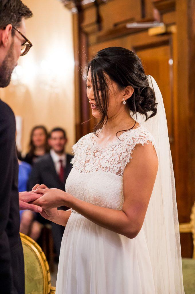Beautiful town hall London wedding photography