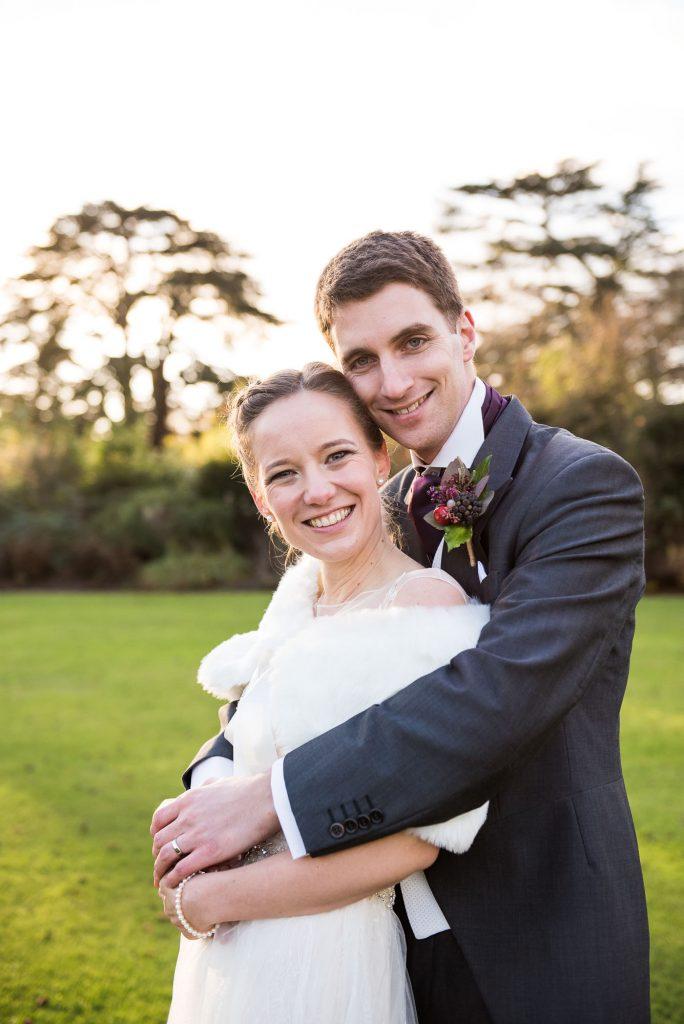 Ashridge House Wedding. Natural Wedding Photography. Gloriously happy newlywed couple.