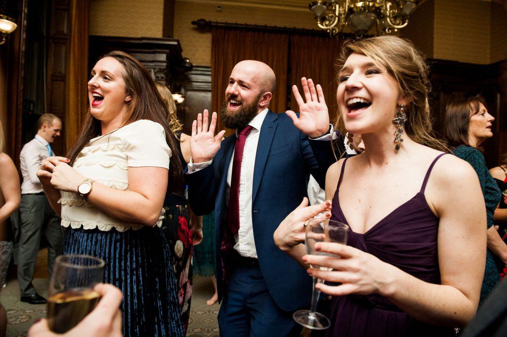 Ashridge House Wedding. Natural Wedding Photography. Relaxed and fun dance floor action.