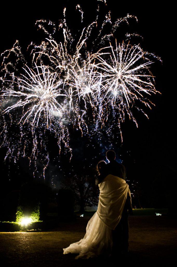 Ashridge House Wedding. Natural Wedding Photography. Firework display Berkhamstead Wedding.