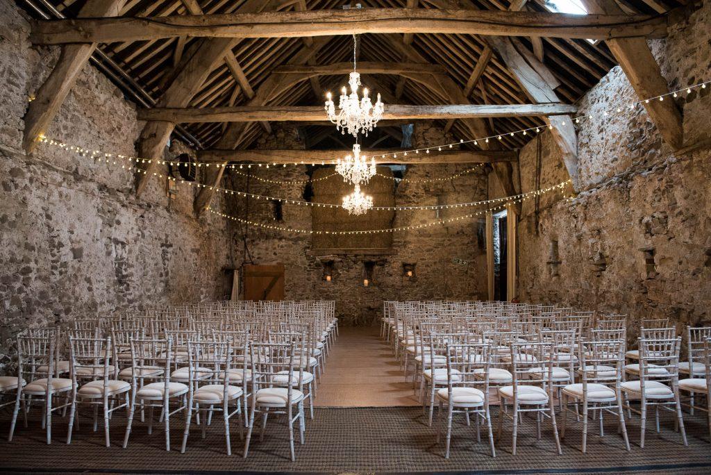 Park House Barn, Rustic Barn Wedding, Bohemian Wedding Ceremony