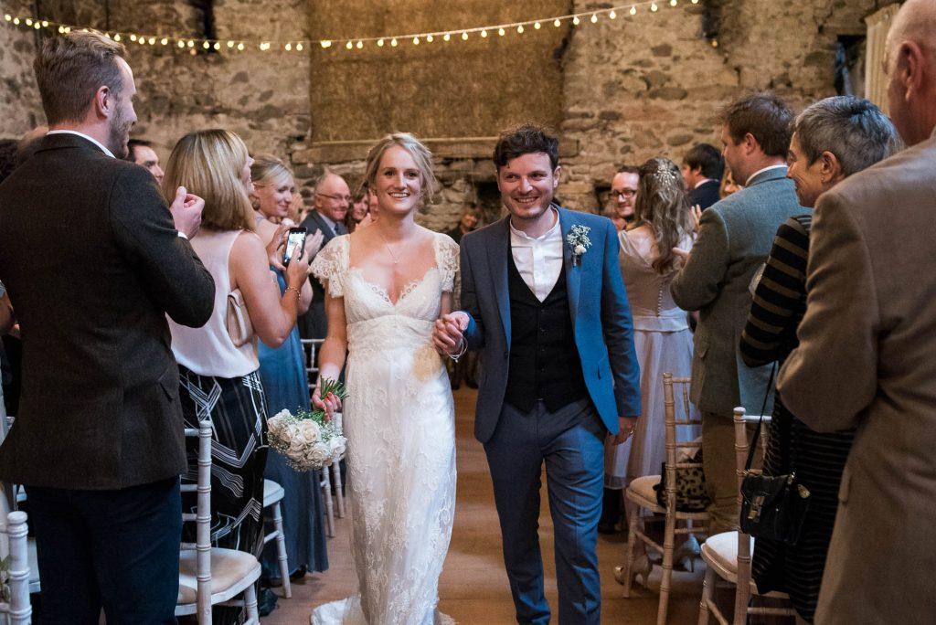 Park House Barn, Rustic Barn Wedding, Natural Wedding Photography Anna Campbell Bride