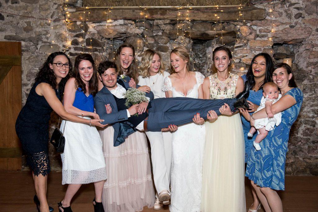 Park House Barn, Rustic Barn Wedding, Spontaneous and Fun Group Photography