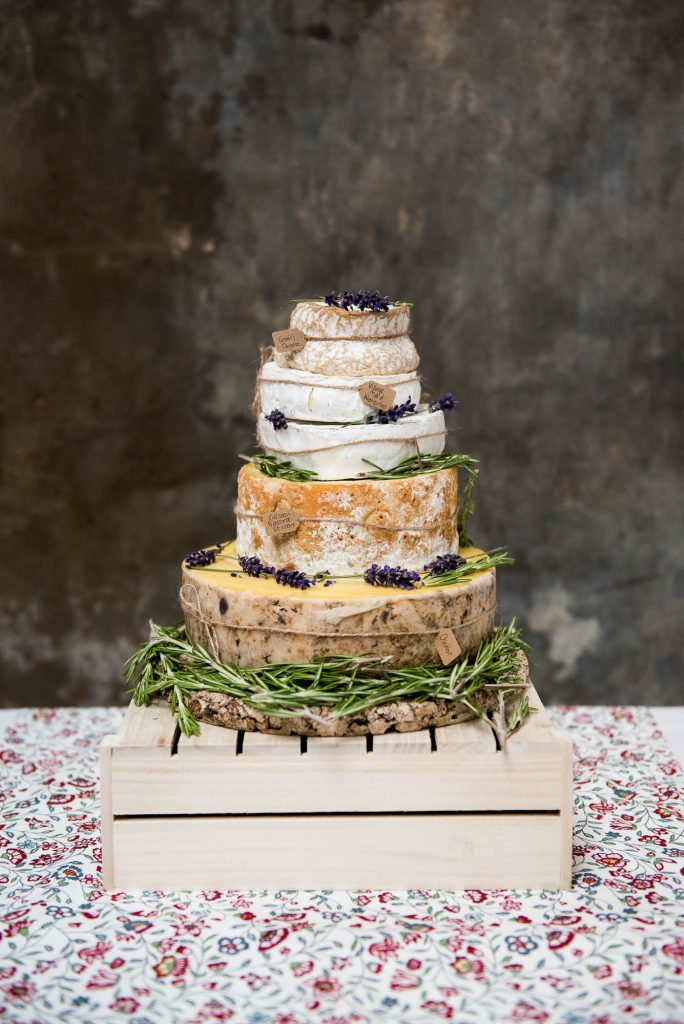 Park House Barn, Rustic Barn Wedding, Cheese Wheel Wedding Cake