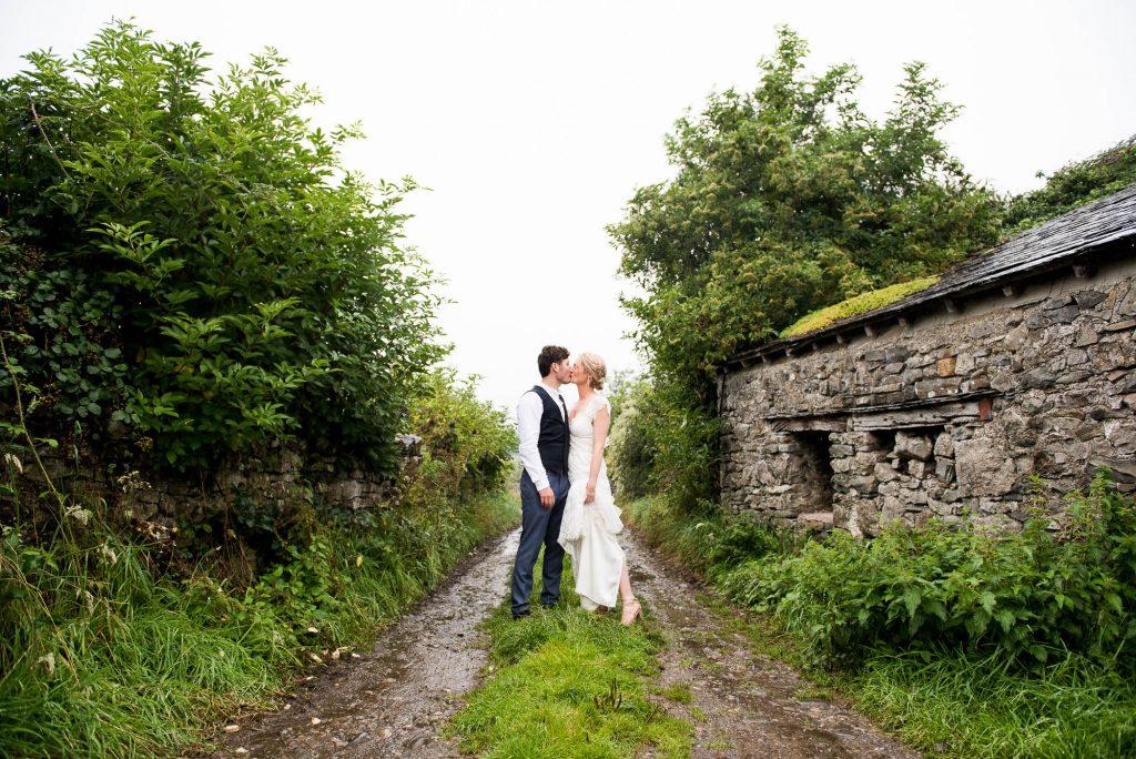 Park House Barn, Rustic Barn Wedding, Anna Campbell Bride and Groom Creative Couples Wedding Photography