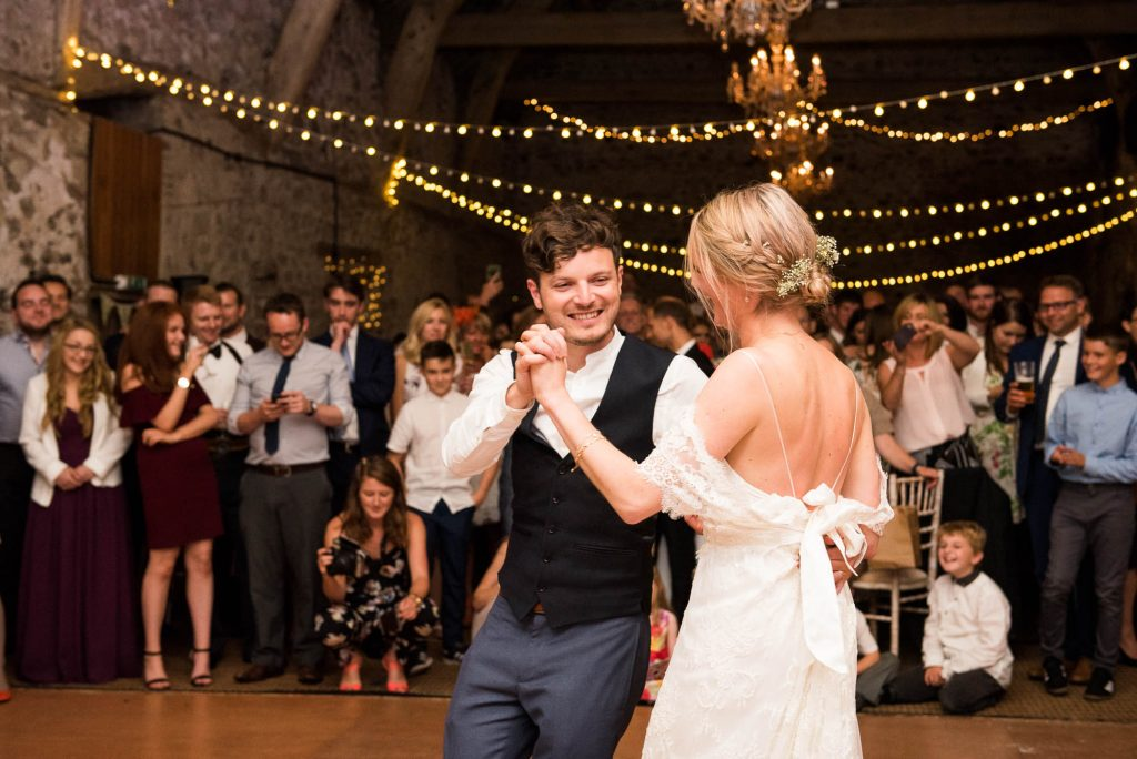 Park House Barn, Rustic Barn Wedding, Natural First Dance Wedding Photography