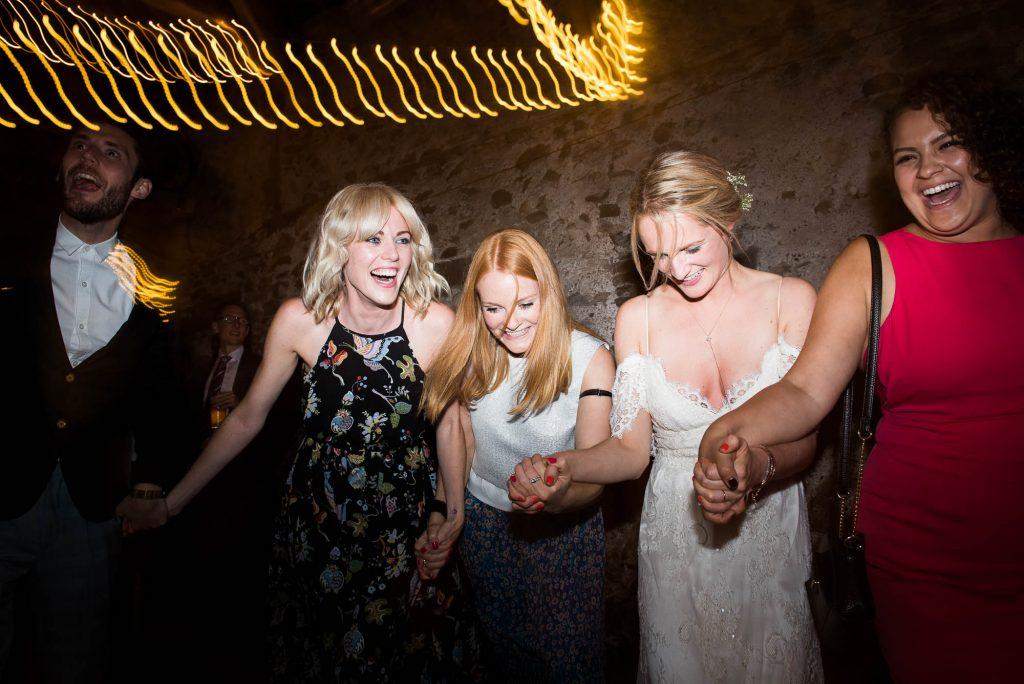Park House Barn, Rustic Barn Wedding, Lively Dance Floor Ceilidh Band