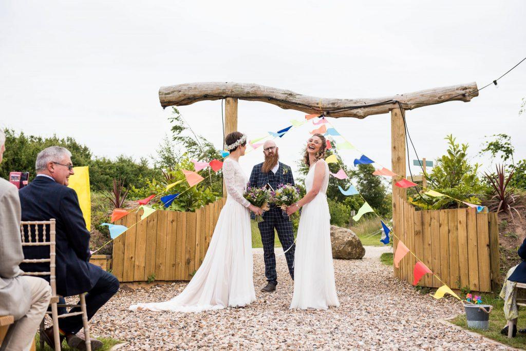 Eco Friendly Wedding, Surrey Outdoor Wedding Ceremony Inkersall Grange Farm, Wedding Advice