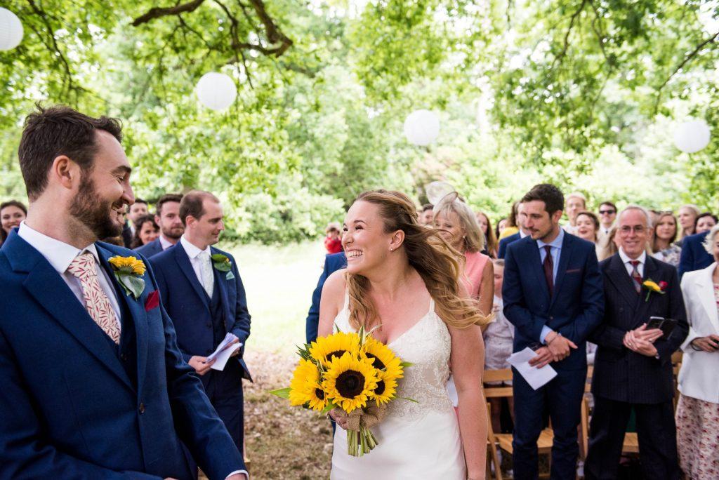 Eco Friendly Wedding, Surrey Outdoor Wedding Ceremony, Wedding Advice