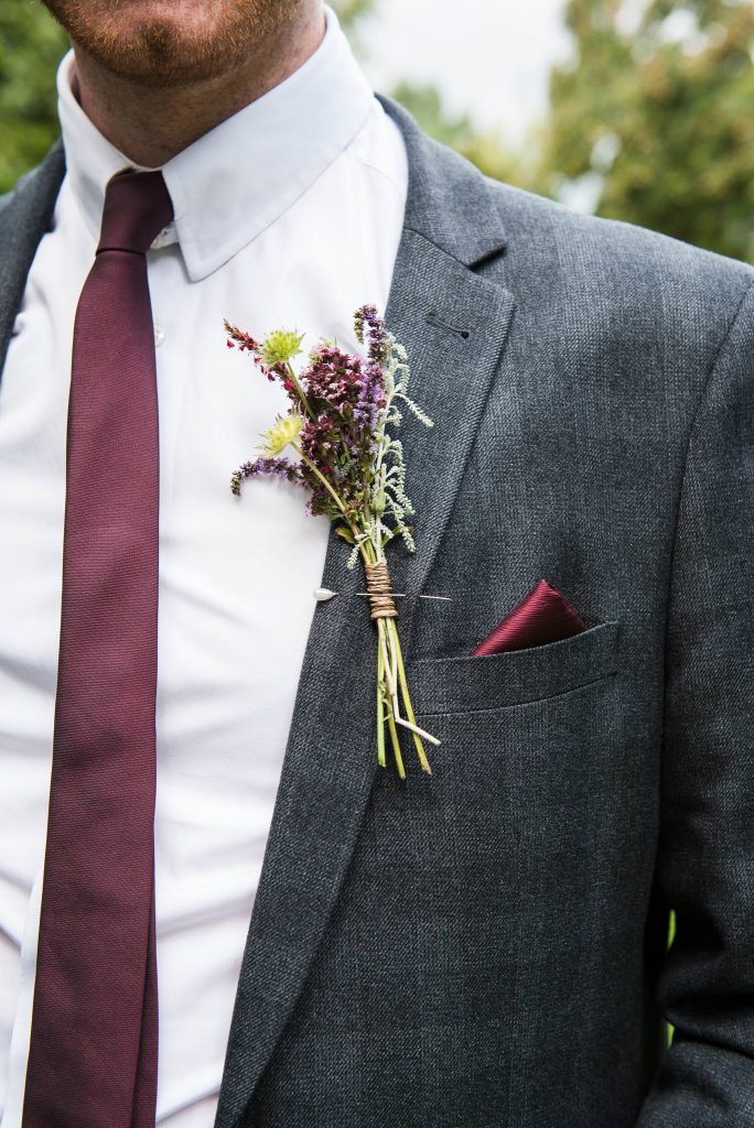 Eco Friendly Wedding, Bridesmaids in Pale Pink Dresses with Wild Flower Buttonholes by Bare Blooms, Wedding Advice