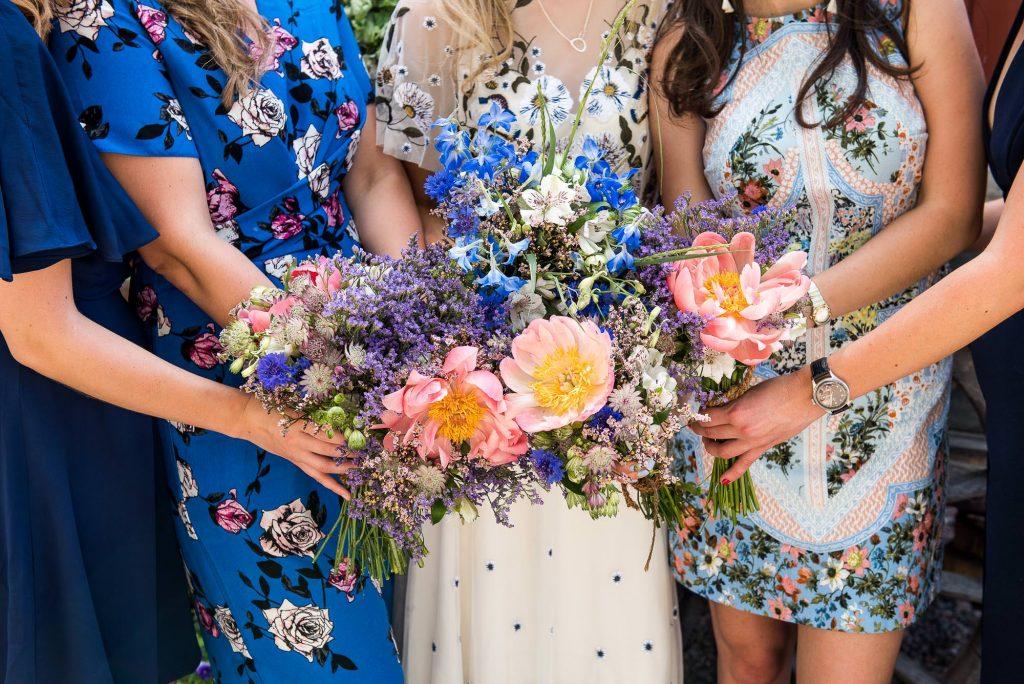 Eco Friendly Wedding, Homemade Wildflower Bridesmaid Wedding Bouquets, Wedding Advice