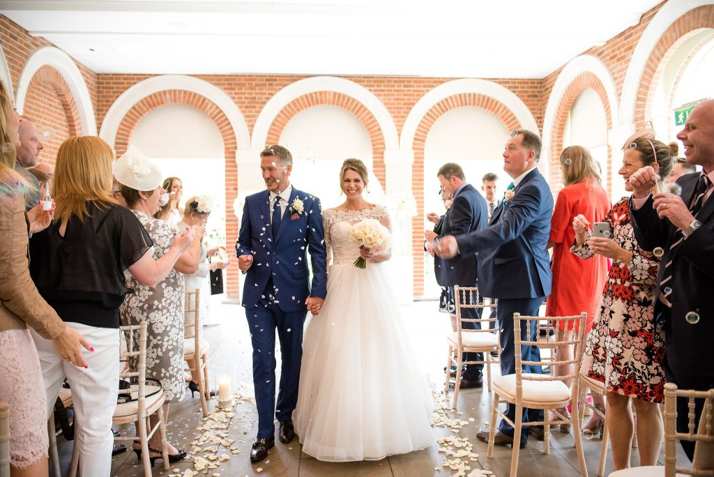 Wedding Confetti, Fun Documentary Wedding Photography Surrey, Alternative Wedding Confetti Ideas Bubble Confetti