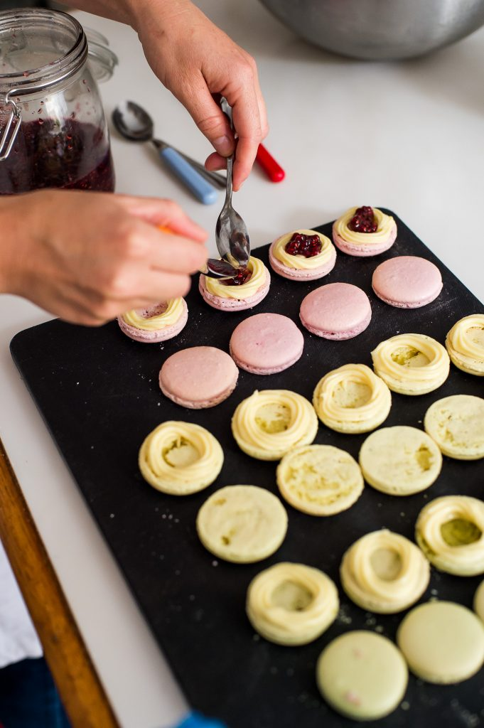 Milk Street Kitchen, A Day In The Life, Wedding Cake Preparation Macaroons