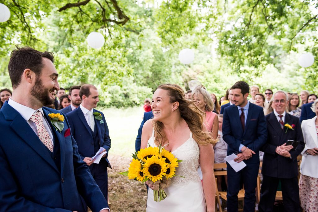 Wedding Day Timeline - Bride and Groom Outdoor Surrey Wedding