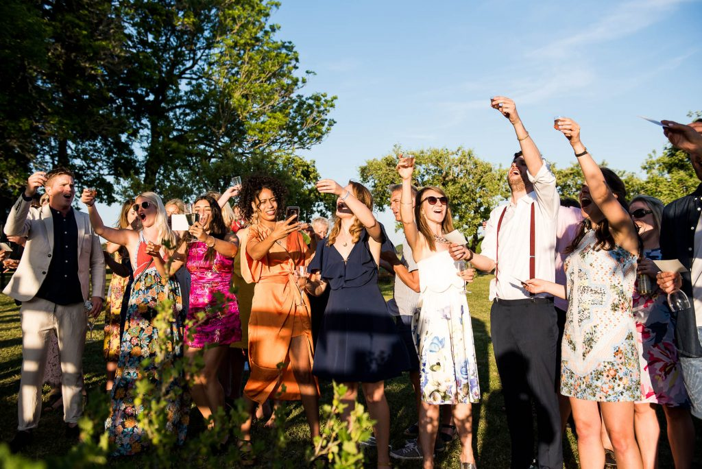 Destination Wedding Photography Sweden - Speeches At The Wedding Reception