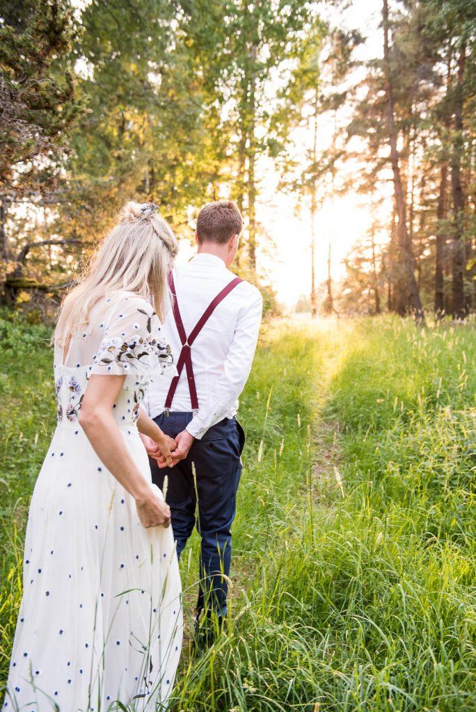 Destination Wedding Photography Sweden - Natural Couples Photographs