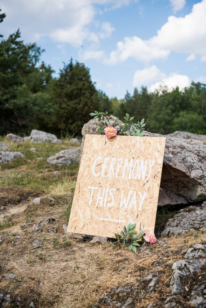 Destination Wedding Photography Sweden - Outdoor Ceremony photography