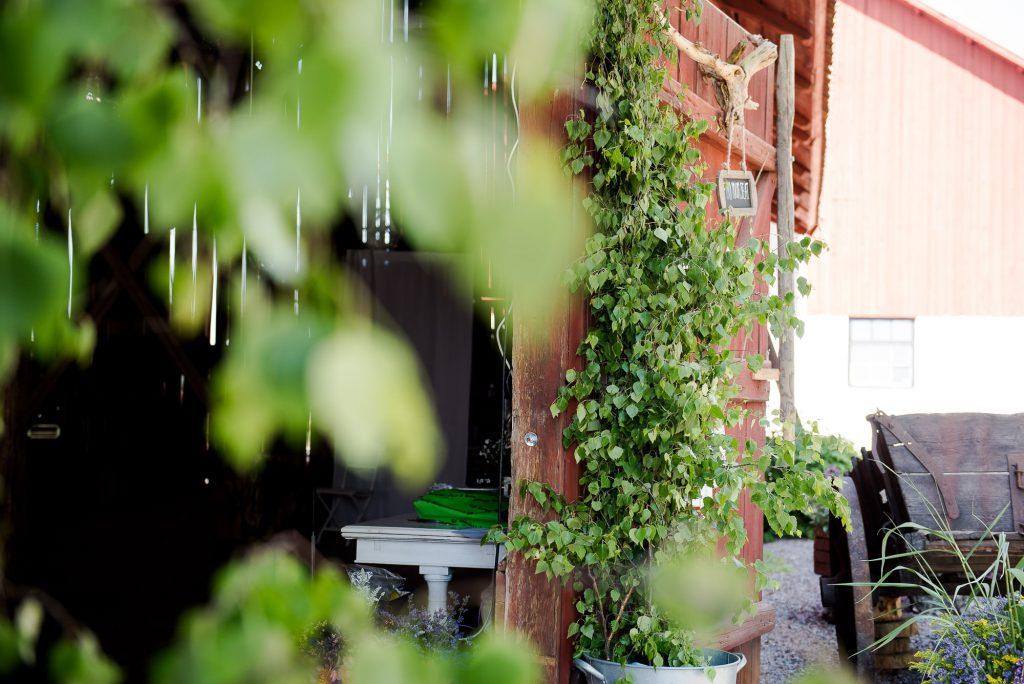 Swedish Wedding - Kroksta Gard Wedding - Traditional Red Fronted Swedish Barn