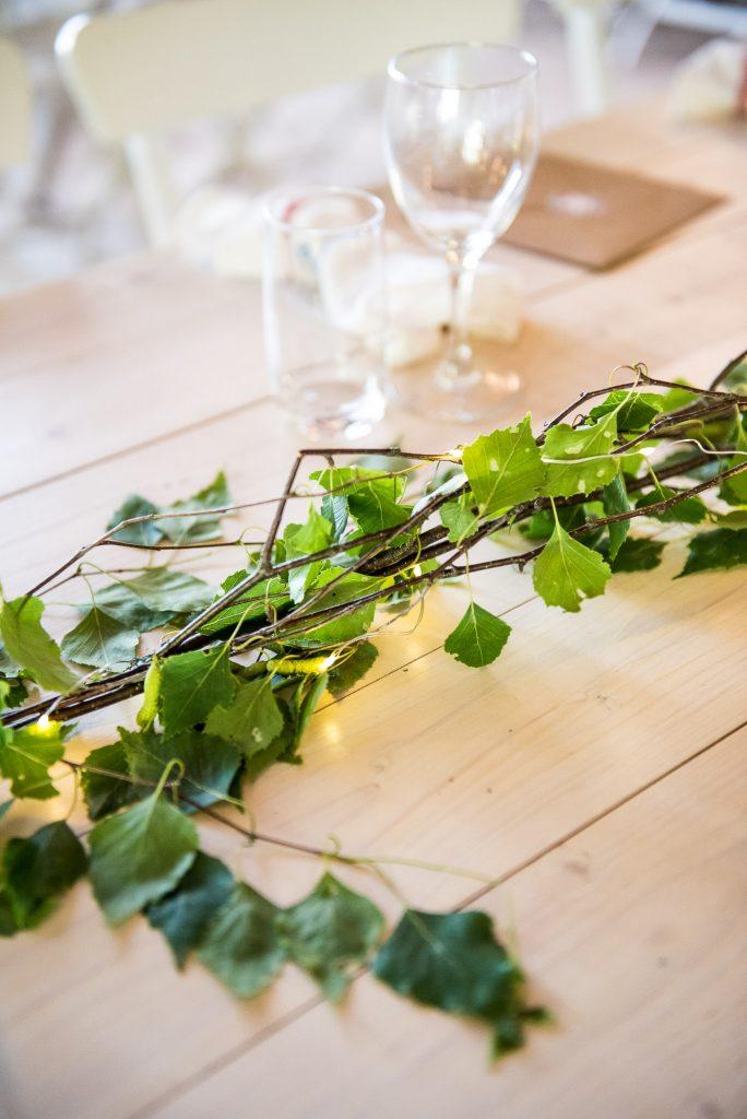 Destination Wedding Photography Sweden - Hand Made Botanical Wreath Decorations