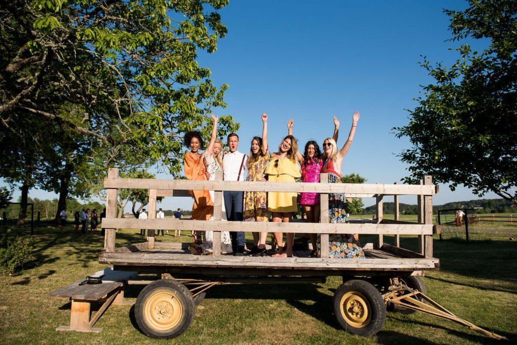Swedish Wedding - Kroksta Gard Wedding - Natural Group Photography