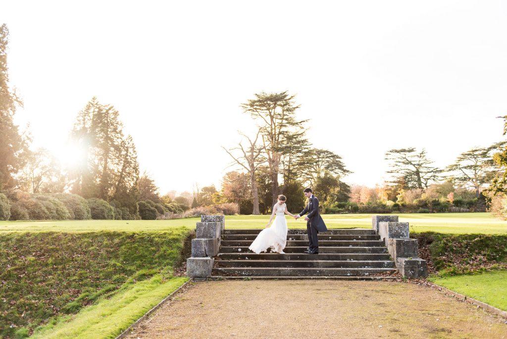 Relaxed Wedding Photography - Grand Countryside Wedding Portrait - Surrey Wedding