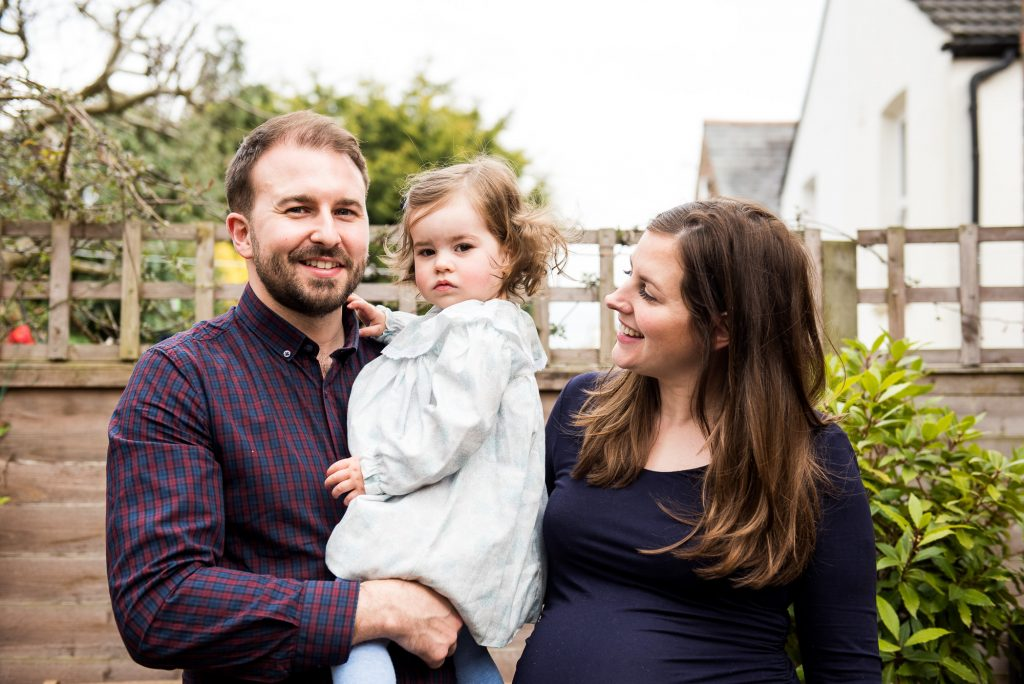 Surrey Family Photography, Natural Family Portrait