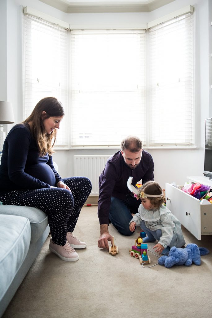 Surrey Family Photography, Family photographer, Candid family moment playing together