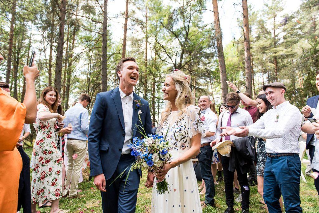 LGBT wedding photography, wedding confetti