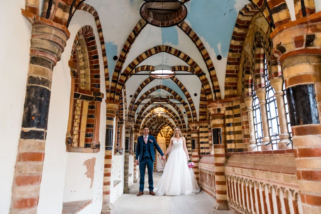 LGBT wedding photography, alternative wedding couple portrait