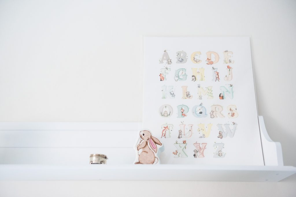 LGBT wedding photography, nursery self with photograph