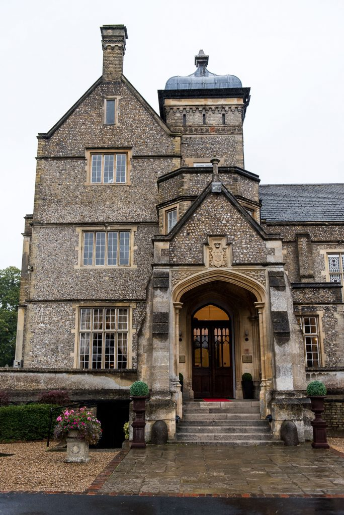 Horsley Towers exterior of the building