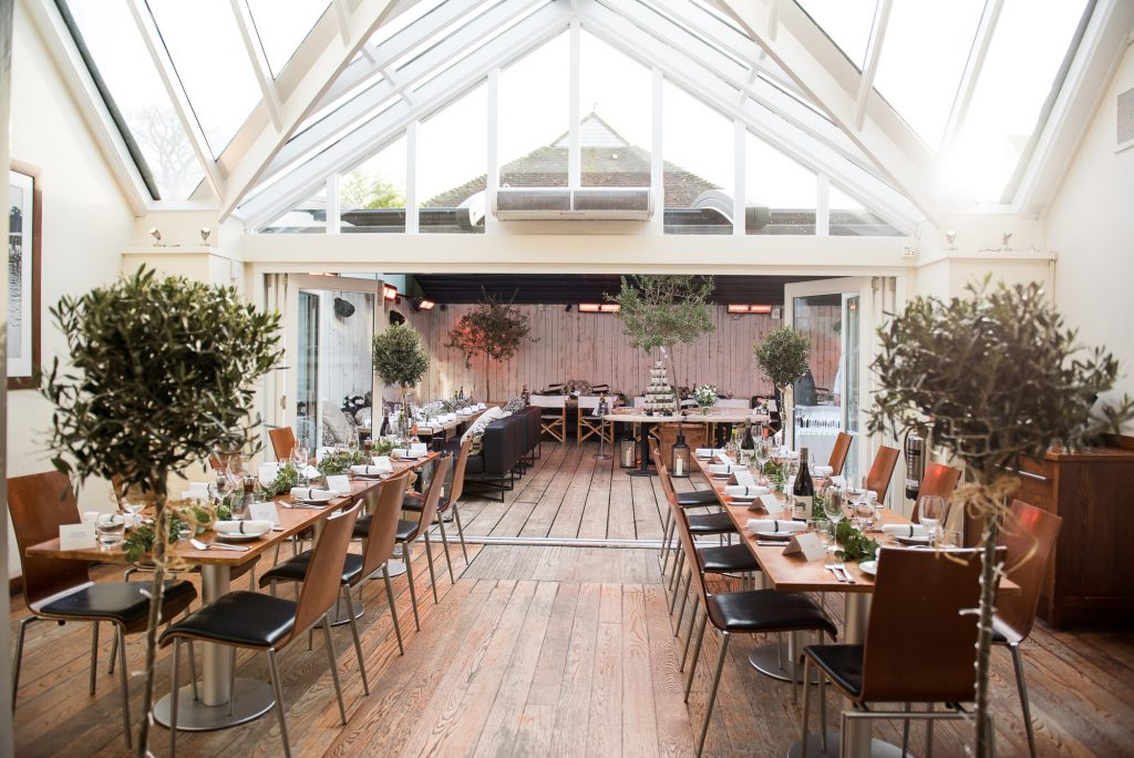 Interior of The Marlow Bar and Grill, Buckinghamshire wedding photography