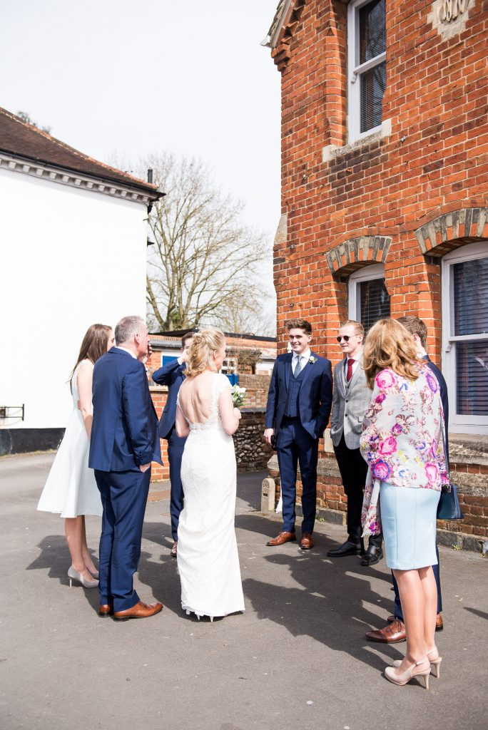 Buckinghamshire wedding photography, Marlow registry office wedding