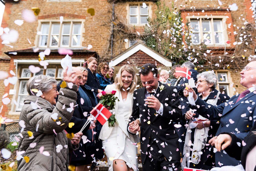 natural wedding photographer Artington House wedding
