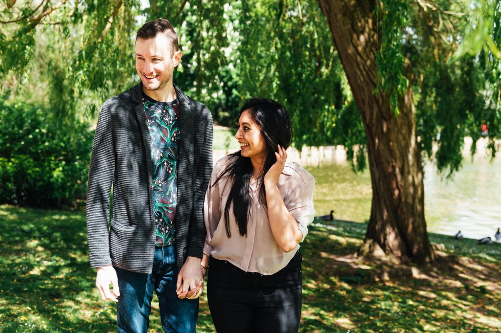 Forty Hall Engagement Shoot - Natural London engagement photography