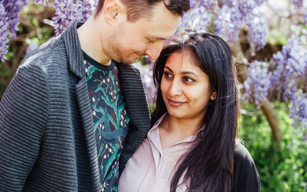 London Engagement Photography – Forty Hall Engagement Shoot
