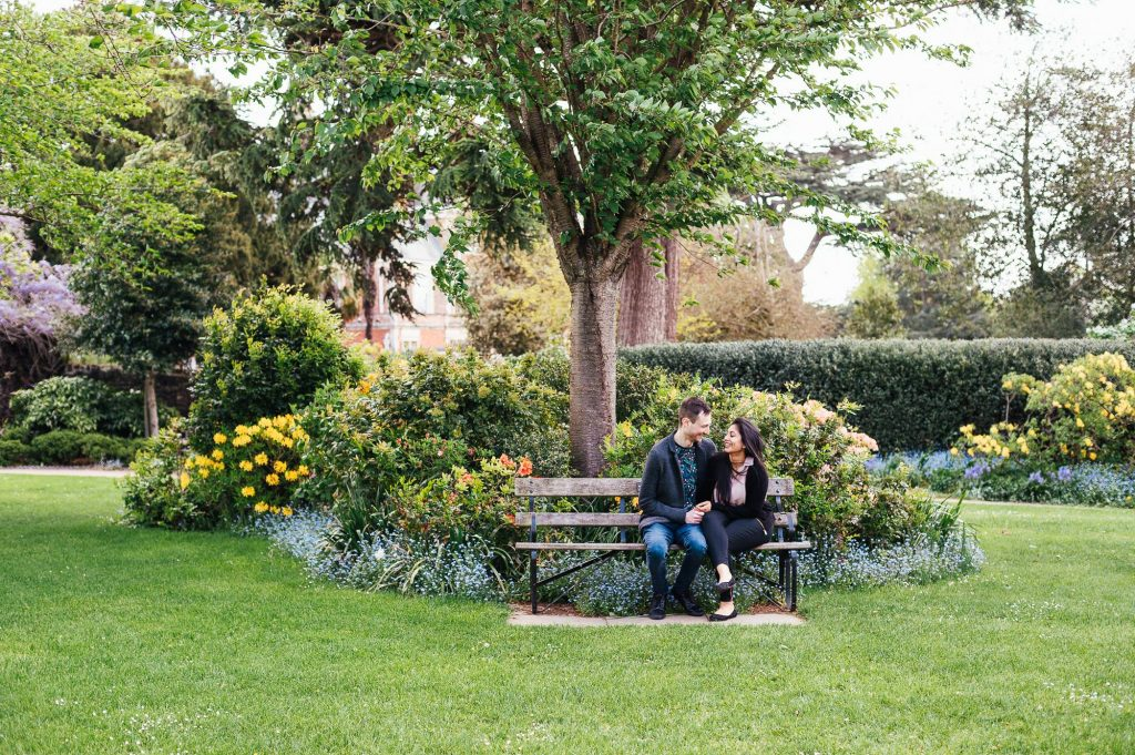 Natural Forty Hall Engagement Shoot, London engagement photography