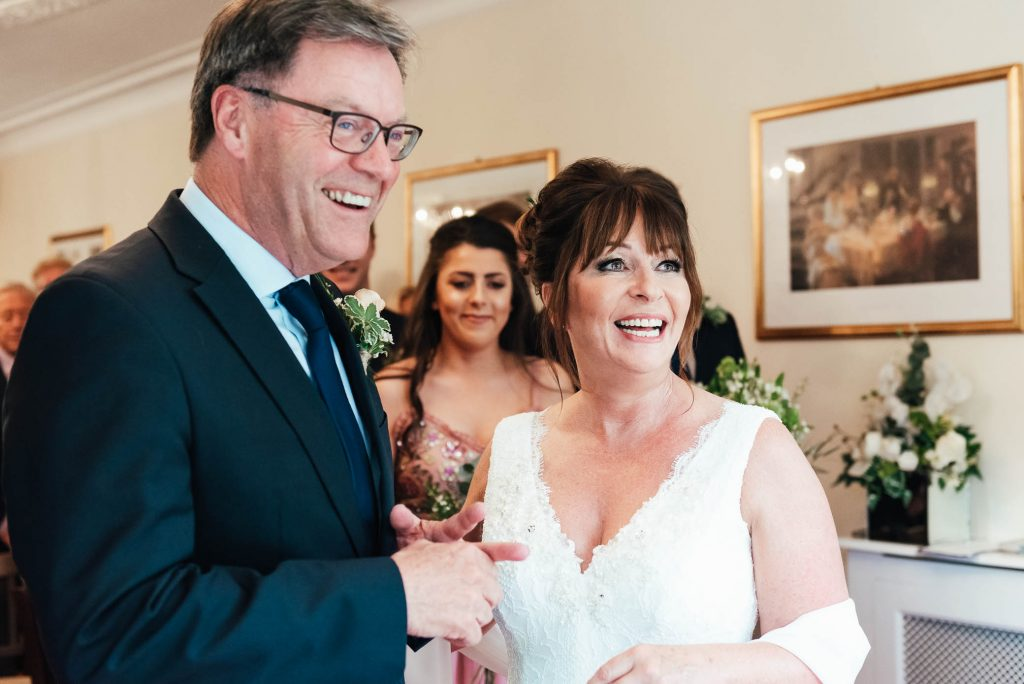 Natural Surrey wedding photography