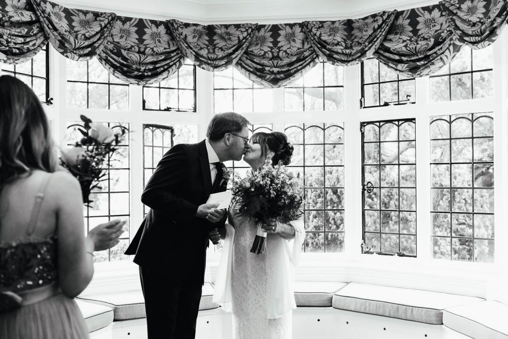 Weybridge wedding ceremony