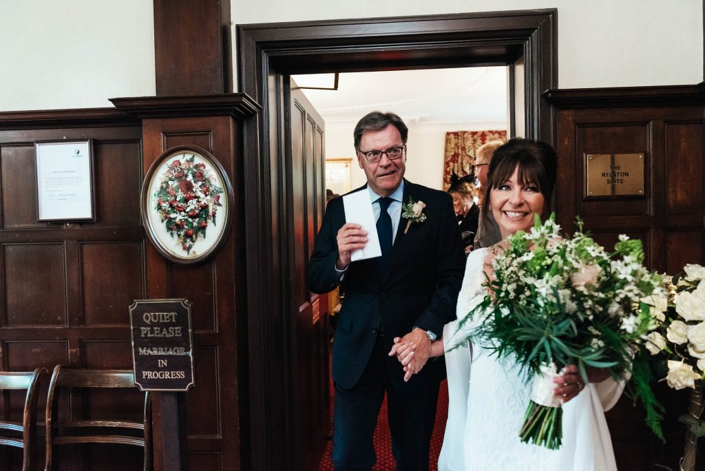 Candid and natural wedding photography Surrey