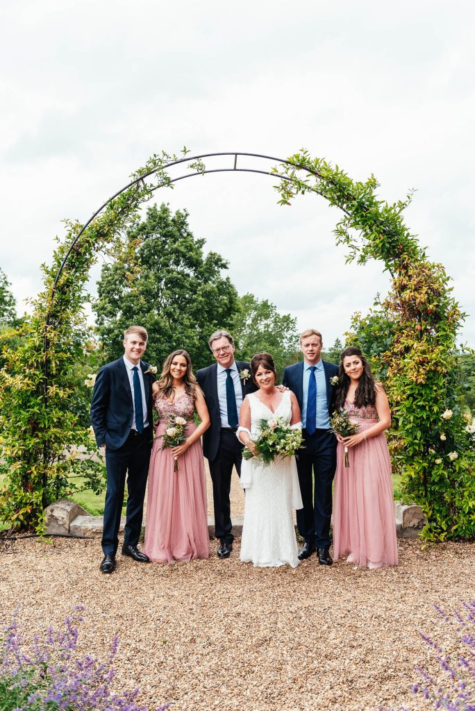 Oatlands Park Wedding Family Portrait