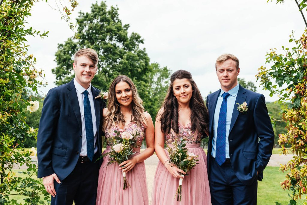 Natural and relaxed group photography