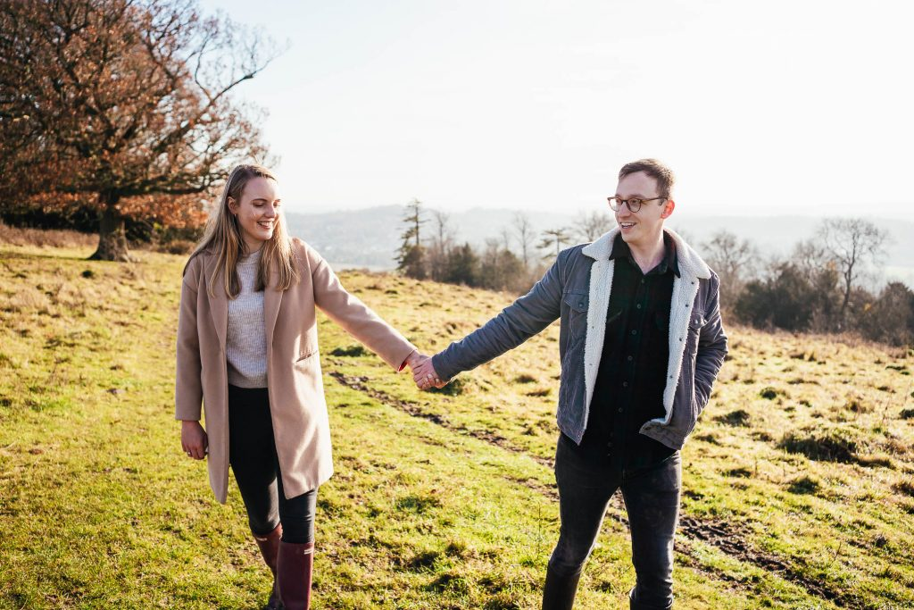 Natural Ranmore Common Engagement Shoot