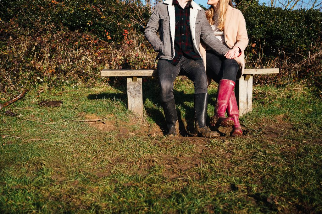 Creative Ranmore Common Engagement Shoot
